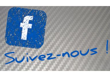 Suivez-nous sur Facebook !
