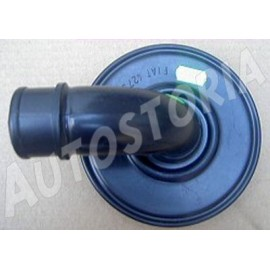 Plastic air filter cover <br>500 F/L/R/126A