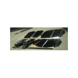 Set of covers of seats front and rear - 500 F/R