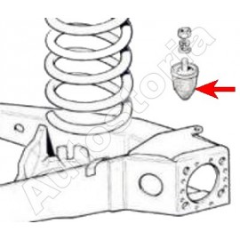 Plug of butted of suspension - 126 all