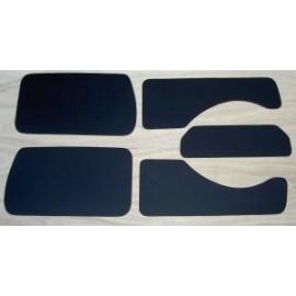 Panneaux de portes et ailes arrières - 500 F Giardiniera (19