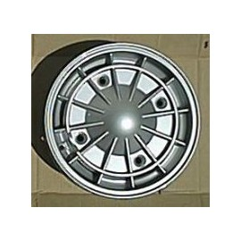 Set of 4 aluminium rims (ABARTH) - 500 D/F/L/R (1960-->1975)