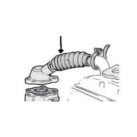 Durite de radiateur à thermostat - 850 Toutes - -> chassis 1