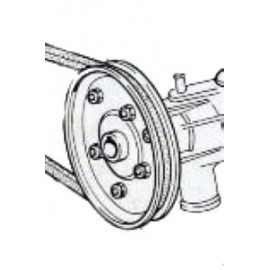 Pulley of water pump<br>850 100GBC/GBS