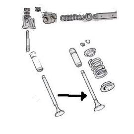 Intake valve<br>850 100 G