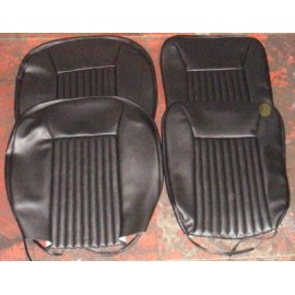 Set of black cover seats<br>850 100 GS