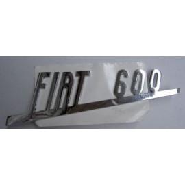 Rear emblem - 600D
