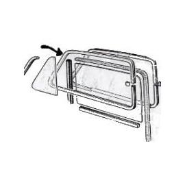 Channel (alu) for 1 door<br>600D (1960 --> )
