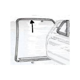 Door seal (on the body)<br>600/600D ( --> 1965)