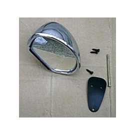 Chrome rear view mirror Right or Left (Sebring)