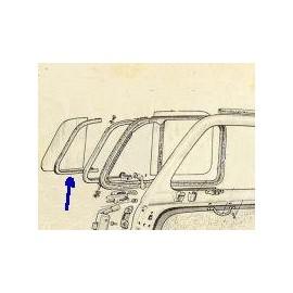 Set of weatherstrip Right and Left - 500 Giardiniera (1960 -