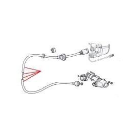 Câble de compteur - 124 Spider (1979 -->1985)
