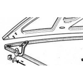 Contacteur de malle arrière - 124 Coupe , Spider toutes