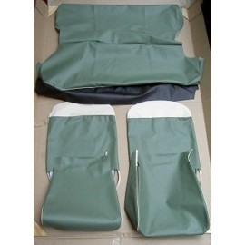 Set of covers of seats front and rear - 500 D