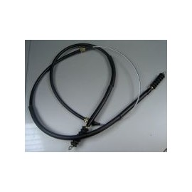 Hand brake cable - 124 Coupe (1967-->1975) , 124 Sedan All