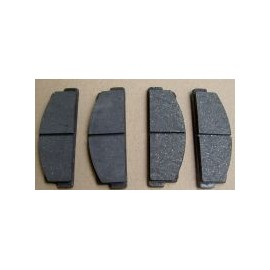 Rear brake pads- 124 Coupe , Spider all