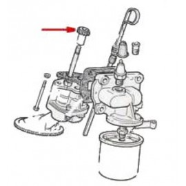 Oil pump gear - 124 Coupe , Spider (1400,1600,1800)