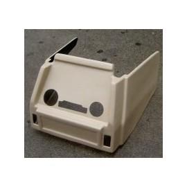 Beige repair kit for radio console - 124 Spider (1979-->1982