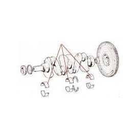 Coussinets de paliers (les 3)<br>1300/1500/1800/2100/2300 (s