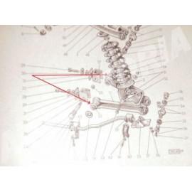 Silentbloc de bras de suspension Inférieur<br>1100/1200 Spid
