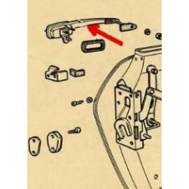 Poignée de portière droite - 124 Spider (1966-->1978)