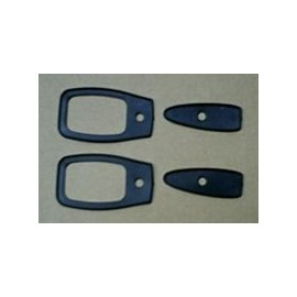 Set of gaskets for outer door handles -124 Spider (1966-->