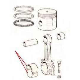 Half bearing (standard) - 1100 , 1200 (all)