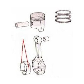 Half bearing - 1800/2100/2300
