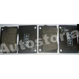 Rear brake pads<br>Dino 2000/2300/Osca