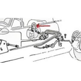 Flexible de freins arrière - 131 toutes (chassis 1110249-->)