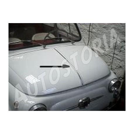 Front Bonnet Molding Fiat 500 N D Giardiniera Autostoria