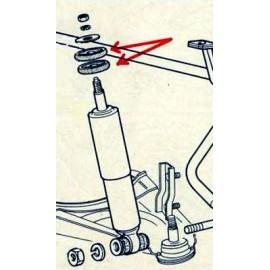 Silenbloc d'amortisseurs Avant ou Arrière - 124 / 125 / 131