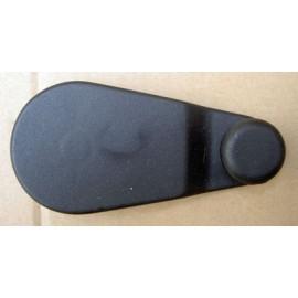 Manivelle lève vitre en plastique noire - Ritmo super, 127 speciale - super