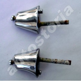 Pair of plate holders<br>1200/1500 Cabriolet