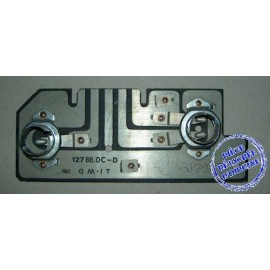Right rear printed circuit<br>127