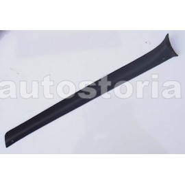 Trim inside windshield Left and Black<br>124 Sedan