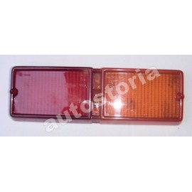 Left taillight lens - First series<br>128 Sedan