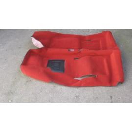 Moquette rouge (bouclée) - Fiat 500 F / L / R (1965-1975)