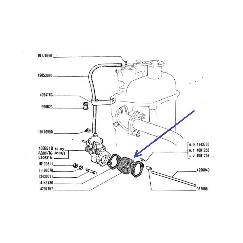 Fuel Pump Spacer