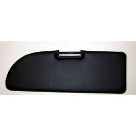 Sun visor (black) - 500 F/L/R / 600D