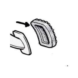 Caucho del pedal del embrague y del freno de pedal - 850 Cou