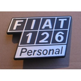 Ornament rear - Fiat 126 Personal