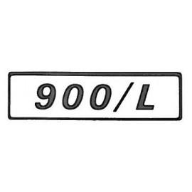 Side emblem – Fiat 127 – 900 / L