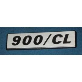 Side emblem – Fiat 127 – 900 / CL