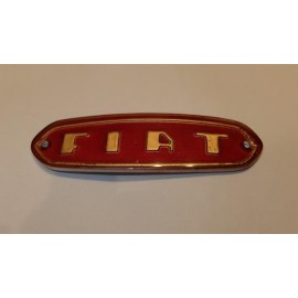 License plate light emblem - Fiat 1200 Trasformabile