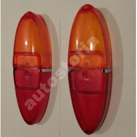 Taillight lenses set - Fiat 1100 D
