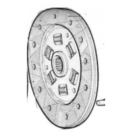 Driven plate - 1100 D/1100 R