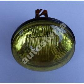 Yellow headlamp - Fiat 128 Rally