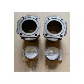 Set of cylinders and pistons 540 cm3 70mm - Fiat 500