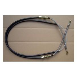 Câble de frein à main - 500 D / F / L (1960 --> 1972)